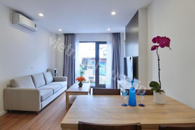 Be surprised by this light-filled two bedroom service apartment