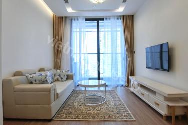 Clean white serviced apartment at Ba Dinh area