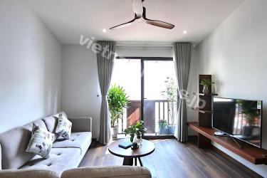 Comfortable three-bedroom serviced apartment at Ba Dinh District