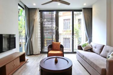 The newly one-bedroom serviced apartment in Ba Dinh District