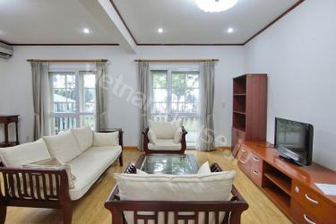 Duplex green garden apartment at Tay Ho area