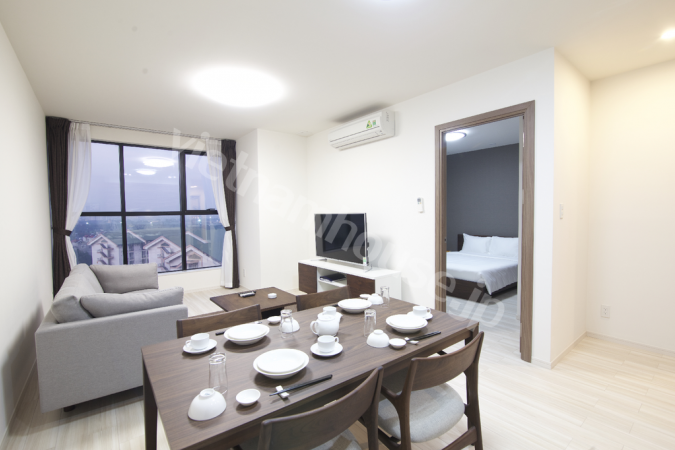 Japanese service apartment in Long Bien District