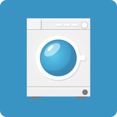 Service apartments have washing machine and price under 1000USD